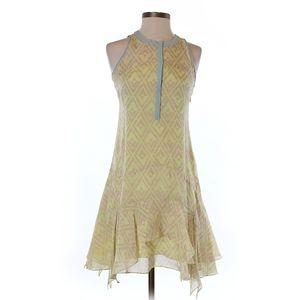 Rebecca Taylor Silk Fit & Flare Dress